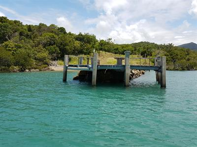 Old Jetty at Earlando