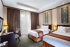 Deluxe Room Twin Bed Swiss-Belhotel Danum Palangkaraya