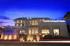 Hotel Building Facade Swiss-Belhotel Danum Palangkaraya