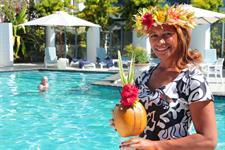 Smiling staff Muri Beach Club Hotel