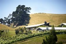 View of estate from west