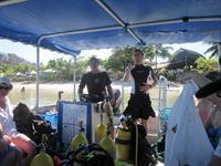 Scuba Diving Stevensons at Manase