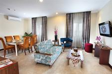 Living room Presidential suite Swiss-Belinn Pangkalan Bun