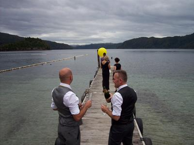 Wedding 5 Lakes Lodge Wilderness Retreat
