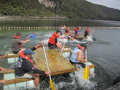 Group Fun 2 Lakes Lodge Wilderness Retreat
