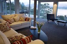 floor to ceiling glass