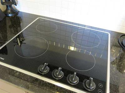Cooking Hob in every apartment kitchen