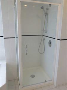 Shower facilities in your two bedroom apartment Ocean Breeze