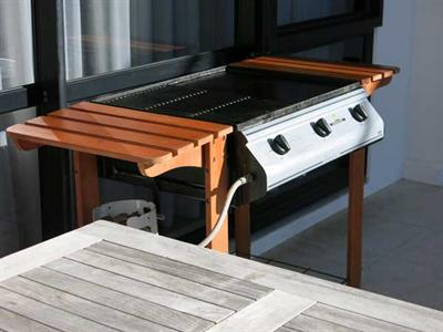 Many apartments offer BBQ facilities on your patio