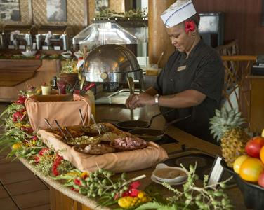 c - Hilton Moorea Lagoon Resort & Spa - Buffet Bre