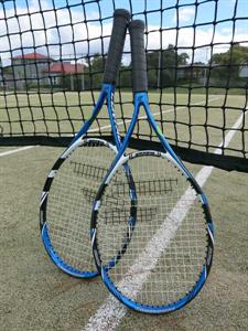 Play a game at the nearby tennis courts Ocean Breeze