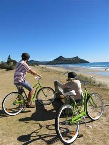 Pauanui is flat and perfect for biking