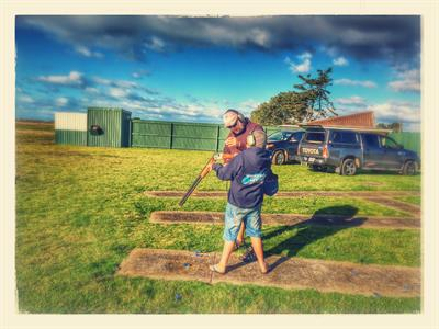Learn to shoot clay targets in Whakatane