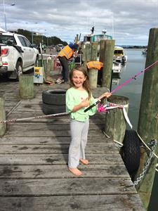 Off the pier fishing fun