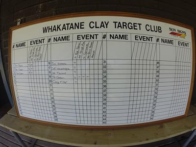 Whakatane clay target shooting Tuscany Villas Whakatane
