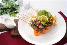 Arni Souvlaki (Grilled Lamb Skewer)