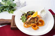 Kotopoulo Sxaras (Chicken Steak)