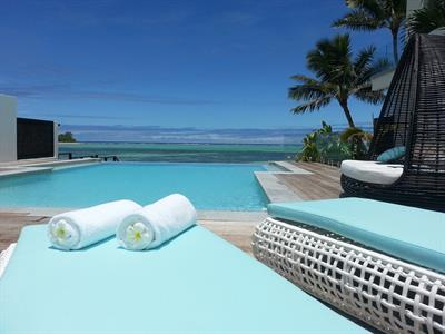 Poolside Crystal Blue Lagoon Villas
