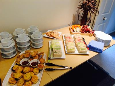 Full catering available at your conference Tuscany Villas Whakatane