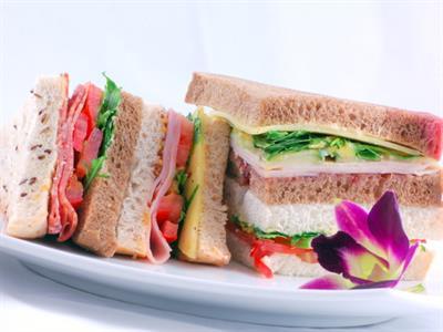 Gourmet sandwiches catering at Tuscany Villas Tuscany Villas Whakatane