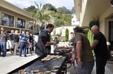 Outdoor event catering at Tuscany Villas