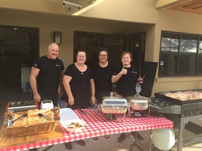 Big breakfast catering at Tuscany Villas event