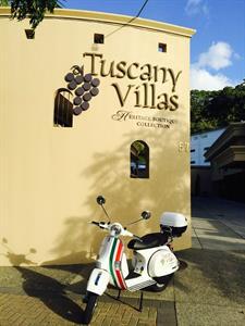 A slice of Italy in central Whakatane Tuscany Villas Whakatane