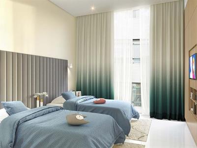 Bedroom Twin Swiss-Belsuites Admiral Juffair