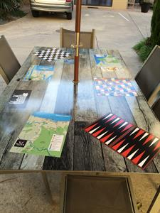 Fun games table for all to enjoy Tuscany Villas Whakatane