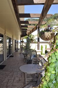 Sit out in the sun on your balcony