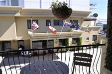 Sit out on the balcony