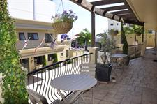 Watch the world go by from your balcony space