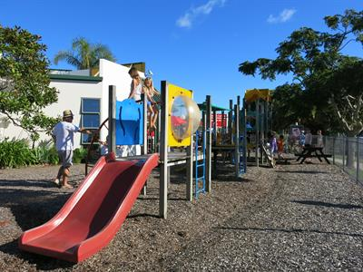 Pauanui has many childrens playgrounds to discover