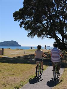 Try the linked bike trails Ocean Breeze