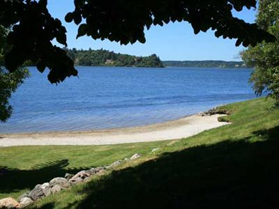 Explore the lake at Wildwood Lodge