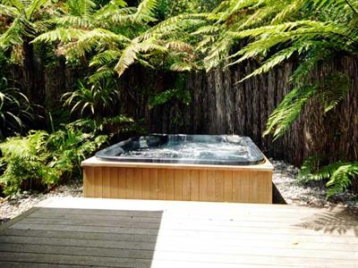 Unwind in the guesthouse spa
