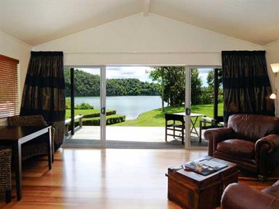 Views of the lake from your guesthouse room
