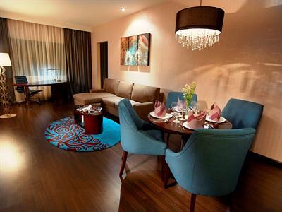 Suite Living Room Swiss-Belhotel Ambon