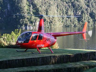 Helipad on site