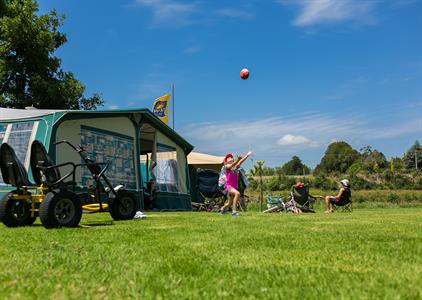 Catch The Ball Whanganui River TOP 10 Holiday Park