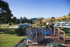 Playground for the kids to entertain themselves