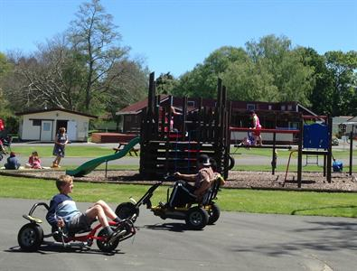 Playground & Trikes