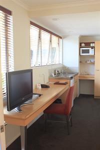 Desk Space & Kitchenette Facilities