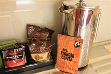 Enjoy Tea & Coffee In Your Room