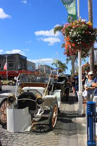 Vintage Cars On Dispaly In The Heart Of Tauranga