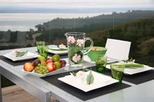 breakfast on the deck