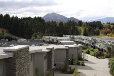 Distinction Wanaka - Exterior Aerial View ARW Distinction Wanaka Alpine Resort