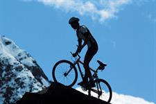 mountain bike on scenic trails