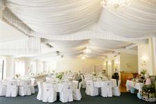 Emma & Sam  - Beautiful wedding setup Charlemagne Lodge
