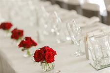 Head table decoration Charlemagne Lodge